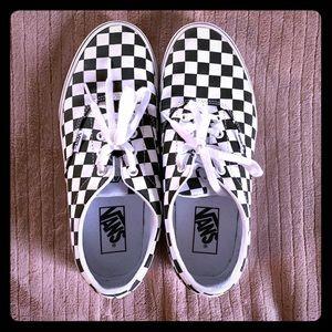 Vans checkered sneakers sz 8.5